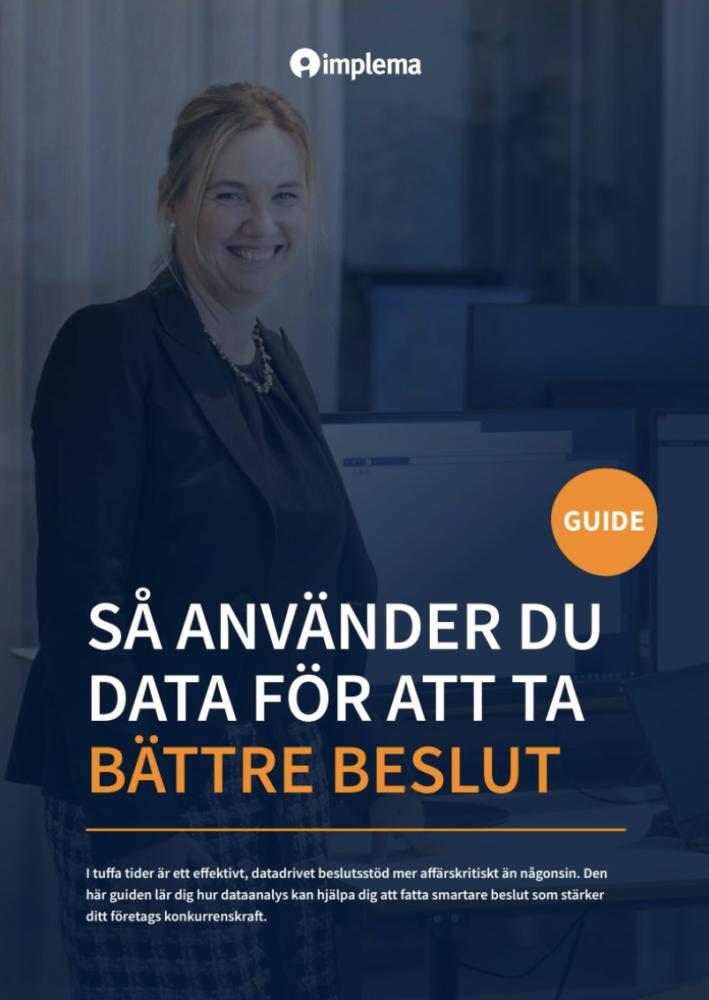 Guide data analytics