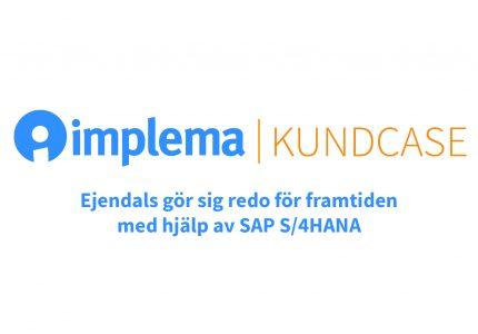 Ejendals Gor Sig Redo For Framtiden Med Hjalp Av SAP S 4HANA