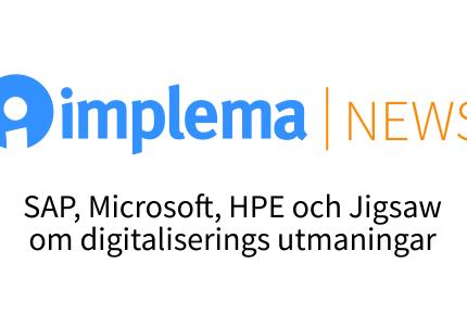 Implema News Digitaliseringens Utmaningar