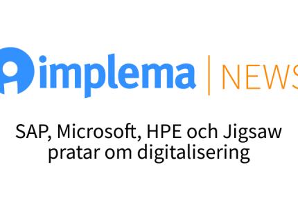 Implema News Om Digitalisering