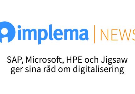 Implema News Rad Infor Digitalisering