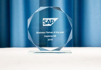 Implema SAP Business Partner Of The Year 2019 4059 1000px
