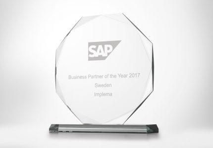 Implema Utsedd Till SAP Business Partner Of The Year For Fjarde Aret I Foljd