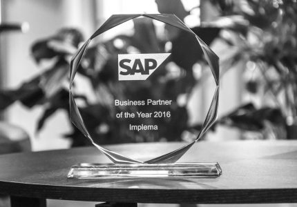 Implema Utsedd Till SAP Partner Of The Year For Tredje Aret I Rad