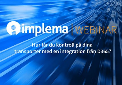 Implema Unifaun Webinar TMS